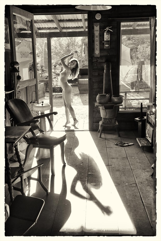shadow of a girl Artistic Nude Photo by Photographer KHolmes