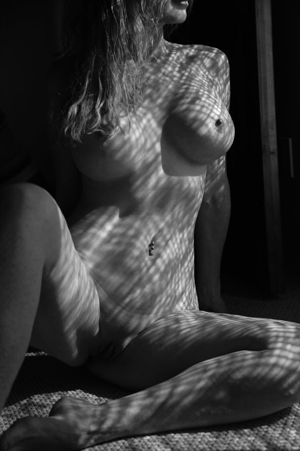 shadow play artistic nude photo by model sirsdarkstar