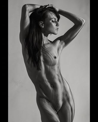 shadow shaper artistic nude photo by model jessa peters
