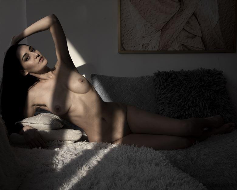 shag shadow artistic nude photo by photographer jose