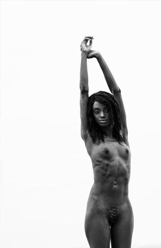shante artistic nude photo by photographer luke adam