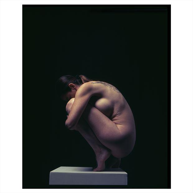 shape artistic nude photo by model shann