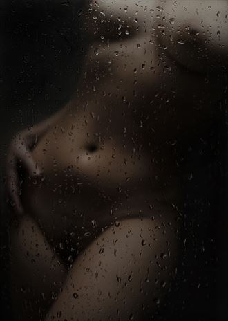 shapes in low light artistic nude artwork by artist hruby
