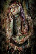 she s a rainbow surreal photo by photographer mykel