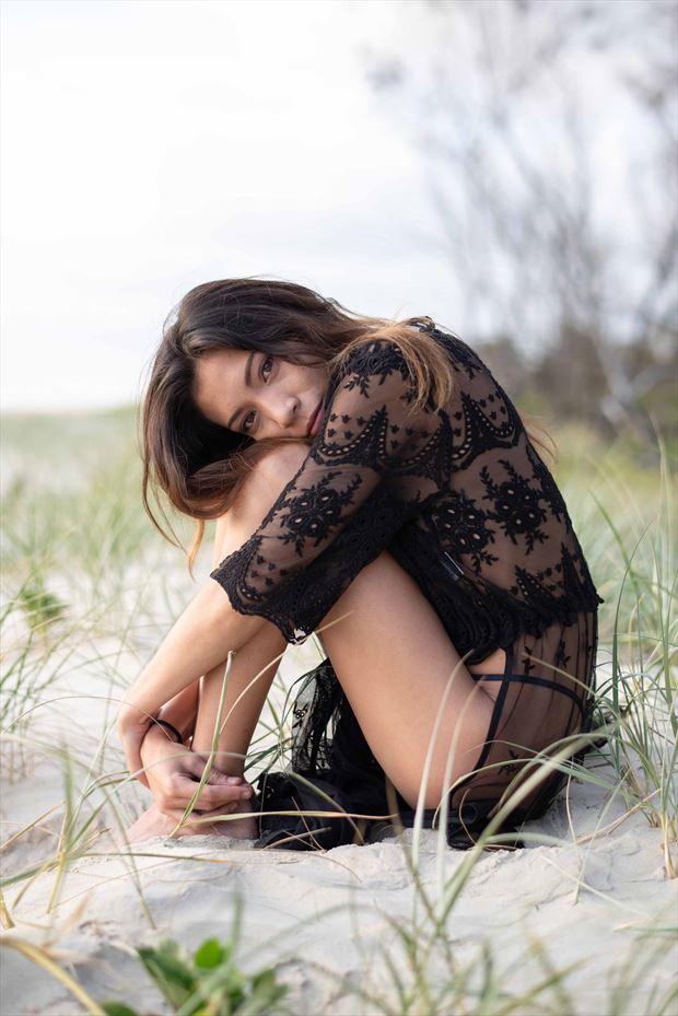 she waited alternative model photo by model lalunagoddess