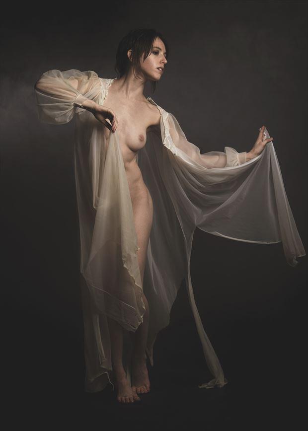 sheer elegance artistic nude photo by photographer kor
