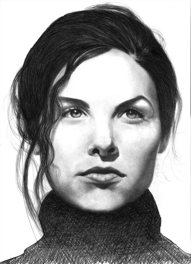 sherilyn fenn portrait artwork by artist subhankar biswas