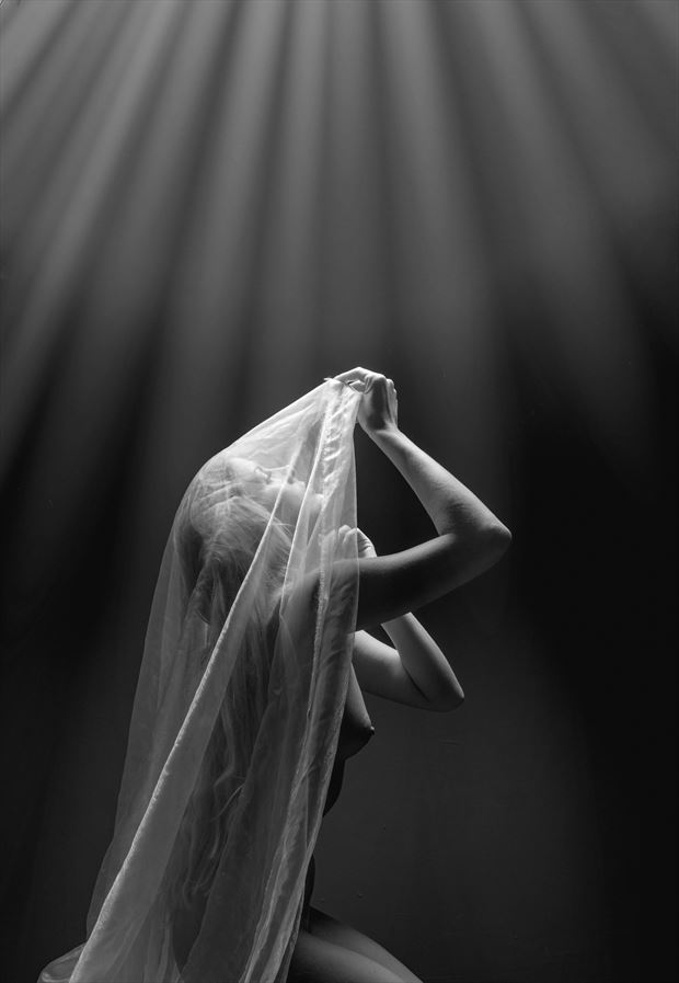 shine a light on me artistic nude photo by photographer colin dixon