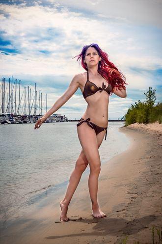 shot for swimsuit company bikini photo by photographer visuals