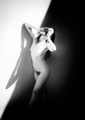 shout artistic nude photo by photographer bo michal