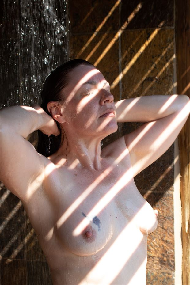 shower 1 artistic nude photo by photographer groovyeditor