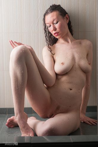 shower art artistic nude artwork by photographer studio747