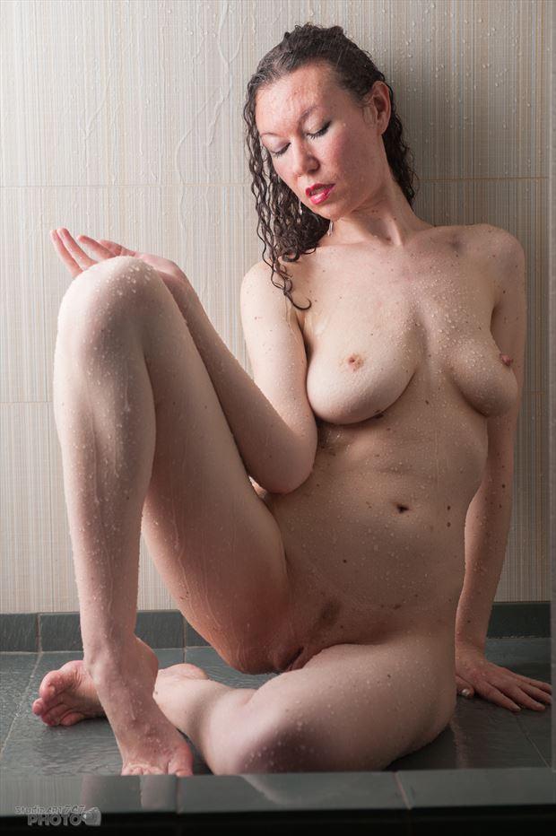 shower art artistic nude artwork by photographer studio747