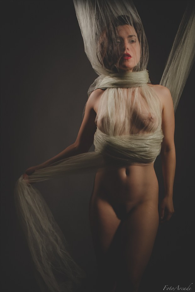 shrouded Artistic Nude Photo by Photographer FotoArcade
