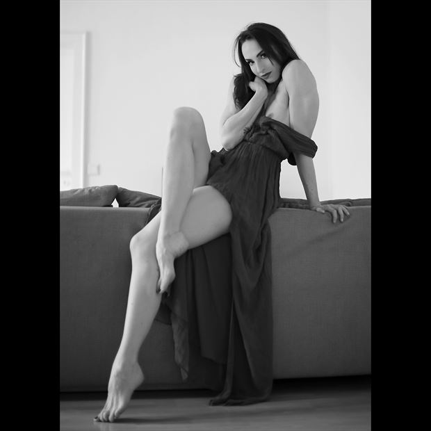 shy me artistic nude photo by model bia