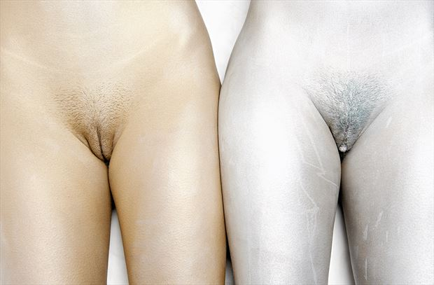 side by side body painting photo by photographer stromephoto