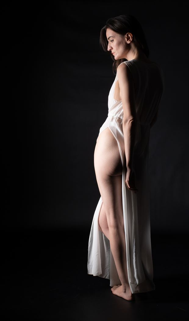 side slit studio lighting artwork by photographer gsphotoguy