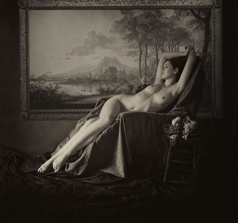 sienna 107 artistic nude photo by photographer linda hollinger