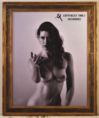 sienna 2 framed artistic nude photo by photographer capitalist tools
