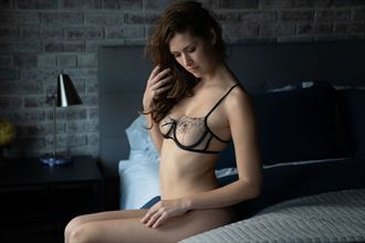 sienna bedside iii artistic nude photo by photographer mxfan61