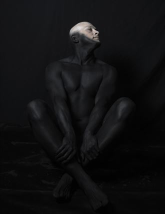 silent songs of sadness artistic nude artwork by model noserviceiguess