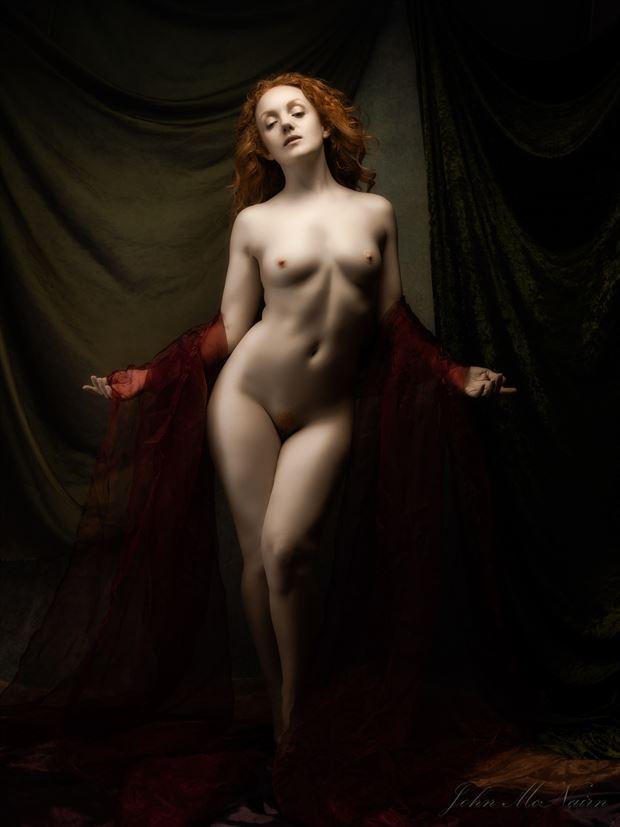 silently the senses artistic nude photo by photographer john mcnairn