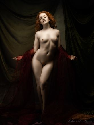 silently the senses artistic nude photo by photographer john mcnairn