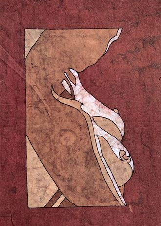 silhouette artistic nude artwork by artist kevin houchin