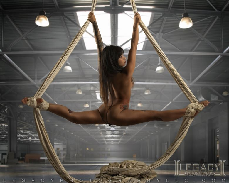 silk goddess artistic nude photo by photographer legacyphotographyllc