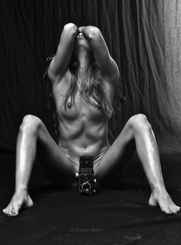 silver artistic nude photo by photographer gibson