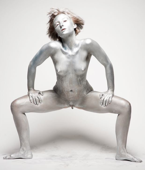 silver artistic nude photo by photographer stromephoto