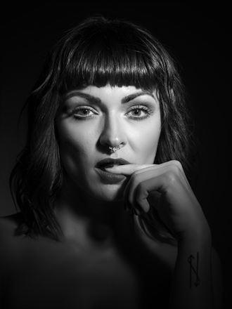 silvia portrait photo by photographer richard byrne