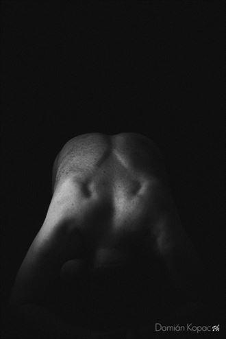 simply my back erotic photo by photographer damian kopac