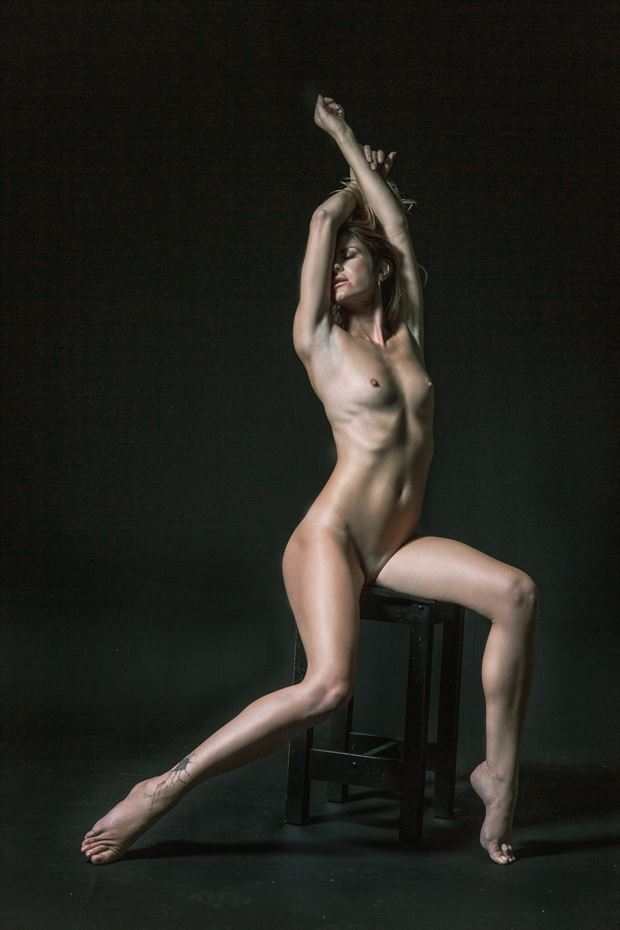 single light figure study 2 artistic nude photo by photographer jonathan c