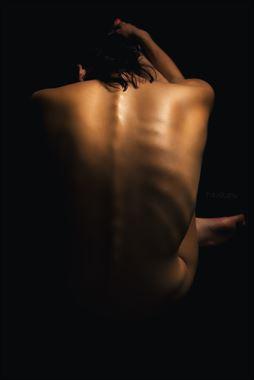 skeleton artistic nude artwork by photographer oliwier r