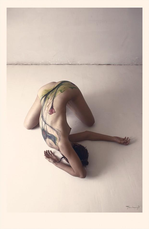 sketchgirl Artistic Nude Photo by Artist pierre fudaryl%C3%AD