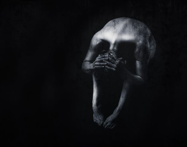 skull experimental photo by photographer bill milward