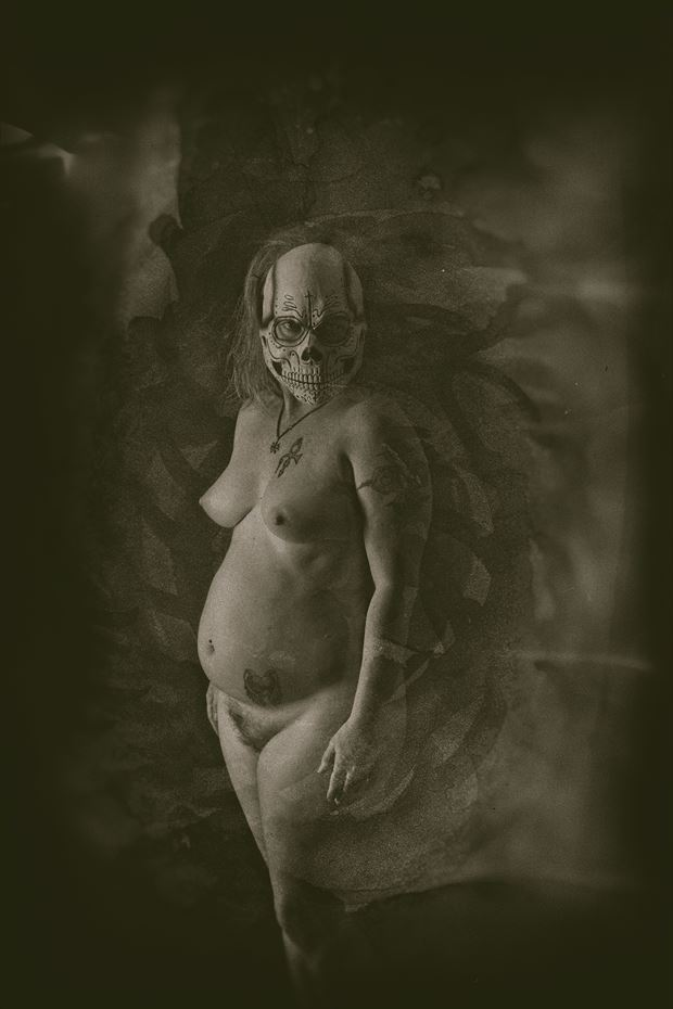 sleep paralysis artistic nude photo by photographer dan morrill