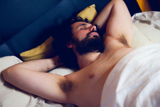 sleeping 5 artistic nude photo by model cosmopolitano