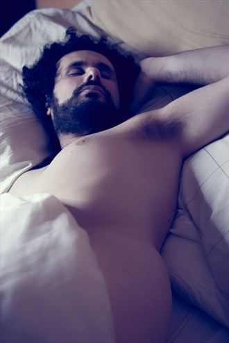 sleeping 6 artistic nude photo by model cosmopolitano