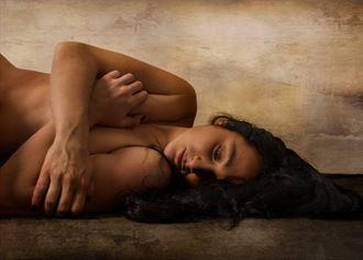 slumber artistic nude photo by photographer fischer fine art
