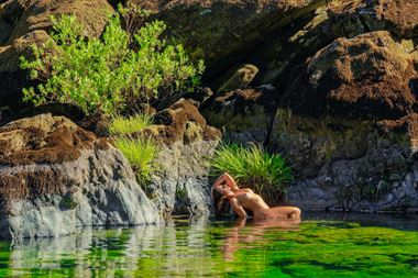 smith river siren artistic nude photo by photographer philip turner