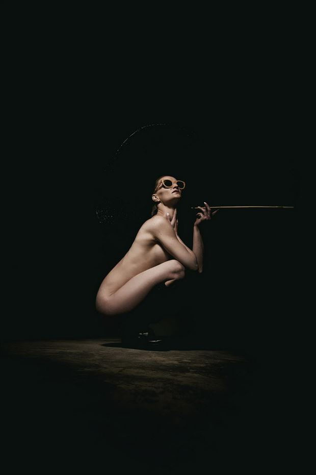 smoke artistic nude photo by photographer omega photography