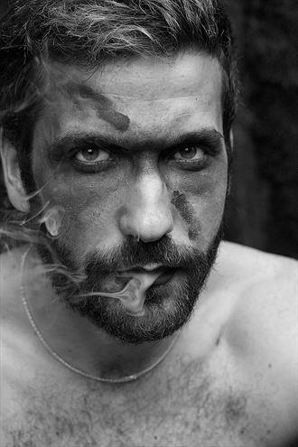 smokin man alternative model photo by photographer lene damtoft