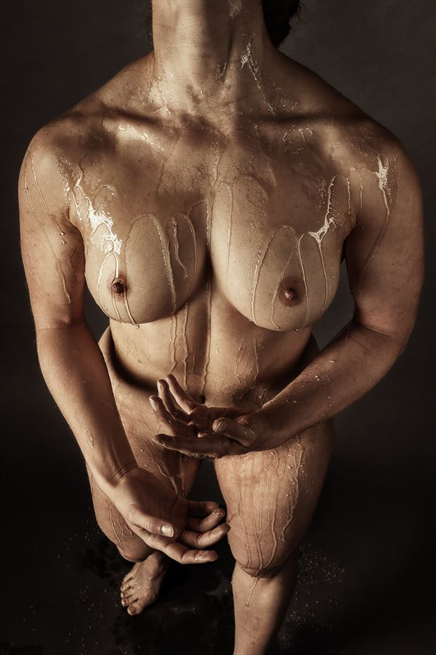 so i got the top off the jar now how do i get this stuff back in artistic nude photo by photographer rick jolson