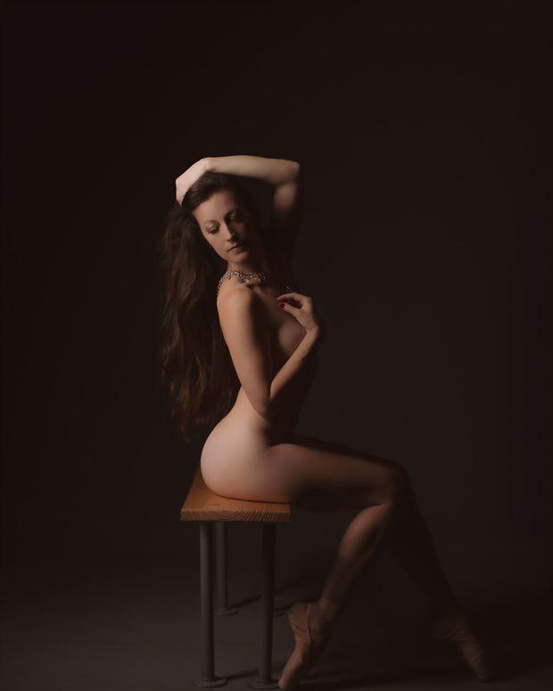 soft ballerina artistic nude photo by model priminaballerina
