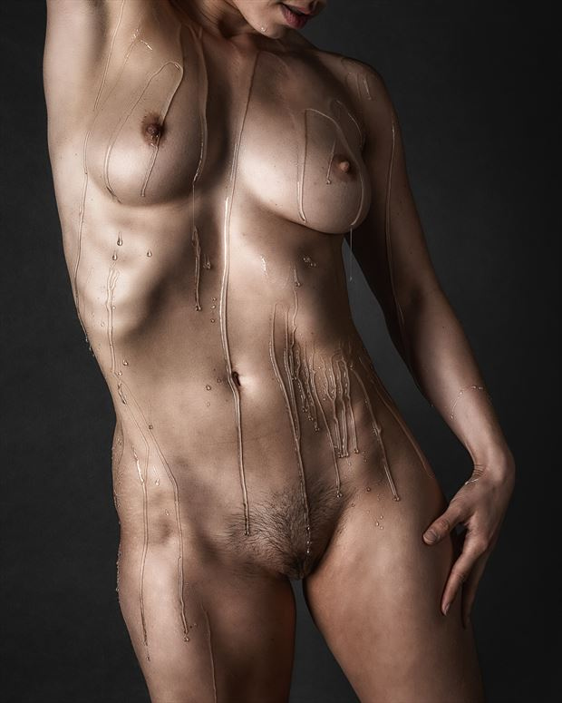 soft but ripped artistic nude photo by photographer rick jolson