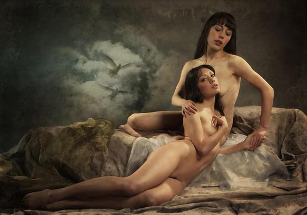 solace under a night sky Artistic Nude Photo by Model rebeccatun