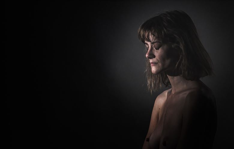 somber artistic nude photo by photographer excelsior