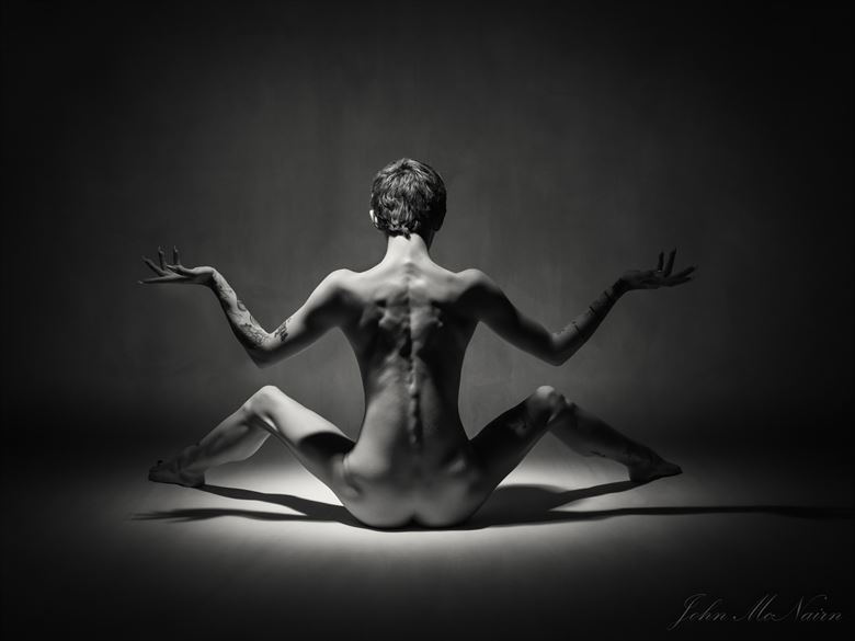 sometimes the within is piano black artistic nude photo by photographer rascallyfox